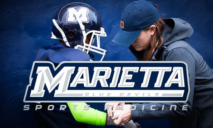Marietta Blue Devils Sports Medicine Logo